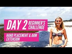 JUMP FIT FREE BEGINNERS CHALLENGE DAY 2 HAND PLACEMENT & ARM EXTENSION - YouTube