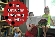The Iowa Farmer's Wife: The Grouchy Ladybug Activities