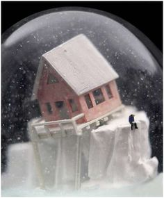 Wonderful and Creepy Snow globes