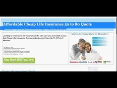 Term Life Insurance Quote Policy