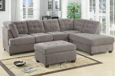 Poundex Sectional Sofa For $899