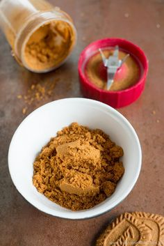Crème de Spéculoos et de pain d'épices (Spekulatius und Lebkuchen Creme) | Rezept | Französisch kochen