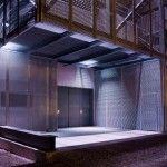 rehabilitacion de antiga nave textil para sala de conciertos. xxm_arquitectura.  photo: xxm_arquitectura (oriol xicot)