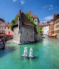 Old Town Annecy, France