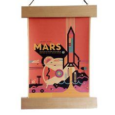 Mars Poster £7.99