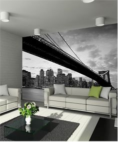 New York Wall Sticker- maybe not for my dream home, but so cool!