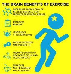 brain benefits of exercise