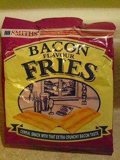 Bacon fries- cereal snack