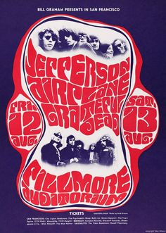 Jefferson Airplane, Wes Wilson, Fillmore