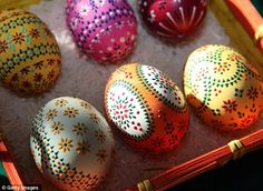 Sorbian traditions go back to pagan customs, where the the egg also represented fertility