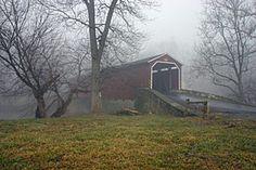 Covered Bridge Lancaster County PA