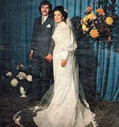 1972 Vintage Wedding Gown