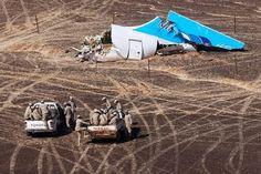 Metrojet Rules Out Technical Failure or Pilot Error for Crash in Sinai Peninsula