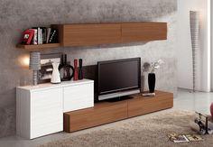 Rack LCD Modular Madras- Factory Muebles - fabrica de muebles de melamina, placards, racks lcd, muebles a medida