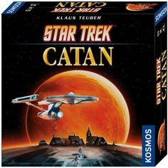 In the Star Trek Catan Strategy Board Game players build outposts and star bases to extract the resources on distant planets. This game transports the world's most acclaimed board game-THE SETTLERS OF CATAN-into the exciting Star Trek universe Settlers Of Catan, The Settlers, Catan Board Game, Board Games, 999 Game, Hidden Identity, Puzzles For Toddlers, Star Trek Universe, Star Wars