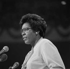Barbara Charline Jordan (February 21, 1936 – January 17, 1996) was an American politician who was both a product, and a leader, of the Civil Rights movement She was the first African-American elected to the Texas Senate after reconstruction and the first Southern black woman ever elected to the US House of Representatives
