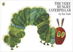 La pequeña oruga glotona (The Very Hungry Caterpillar By Eric Carle. Copyright © 1969 and 1987 by Eric Carle. Used with permission from the Eric Carle Studio) Eric Carle, Caterpillar Book, Hungry Caterpillar Party, Hungry Caterpillar Invitations, Caterpillar Pictures, Caterpillar Preschool, Toddler Books, Childrens Books, Baby Books
