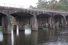 The Hawkesbury River Bridge at North Richmond, NSW Richmond Bridge, Brooklyn Bridge, Steel Girder, Concrete Structure, Reinforced Concrete, Blue Mountain, Family History, North West, Paths