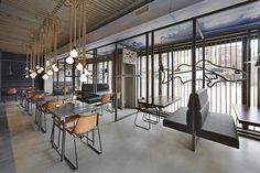 Schuitemaker Vis fish shop & restaurant by Dirk van Berkel, Katwijk   Netherlands restaurant food