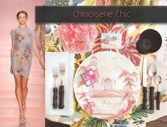 images of chinoiserie | Table setting