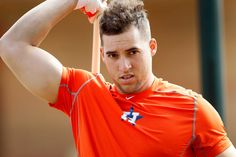 Budding star alters training, diet in quest to reinforce physique  [...] strapping, George Springer arrived at Astros camp 10 pounds heavier than last season.