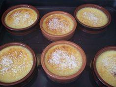 Flan Dessert, Dessert Light, Mousse, Gourmet Recipes, Healthy Recipes, Garam Masala, Stuffed Green Peppers, Food Print, Pudding