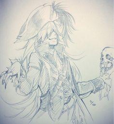 Yana Toboso scribbles (2014/10/01)