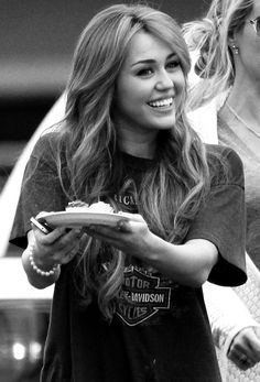 Miley Cyrus when she was normal