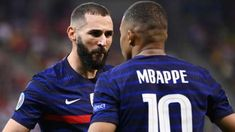 Karim Benzema gets wet for Mbappé's future