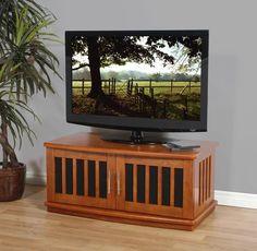 """Plateau LSX-D 42 W Wood 42"""""""" TV Stand in Walnut"""