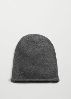 Mütze 100% kaschmir | MANGO