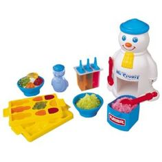 Mr Frosty. The 80's toy that I always wanted but never got!
