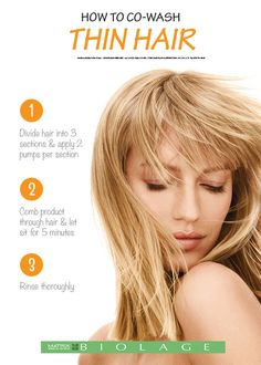 This low-lather, fast rinsing, soap-free (no poo shampoo) Cleansing Conditioner for fine hair with Citrus provides thorough cleansing and lightweight conditioning to enhance shine, suppleness and anti-static control.  How to Co-Wash Fine Hair: 1. Section hair into 3 large sections. Use 2-3 pumps per section. Apply from root to tip. 2. Massage product through hair. Let sit for 5 minutes. 3. Rinse thoroughly. Finish with Anti Static Spray leave-in treatment.  Available at http://www.ulta.com...
