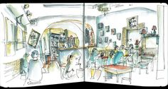 the draughtsman's contract: Bar Bicanela