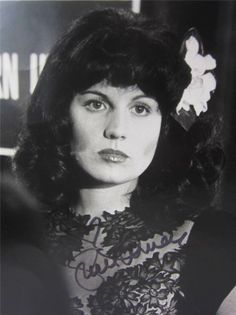 Lucie Arnaz as Elizabeth Short in Who Is The Black Dahlia? 1975 (signed!)