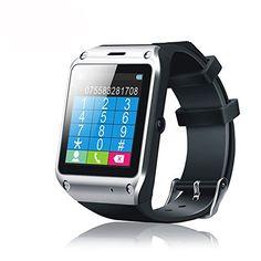 "nice SNEER ""iWatch"" Series 2014 Newest Premium Waterproof Sport Pedometer Smart Watch Qaud Band Watch Touch Screen Mobile Phone Watches Phone Unlocked #SND5 Black"