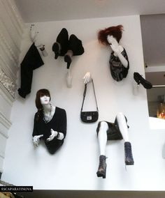 Use of old mannequins