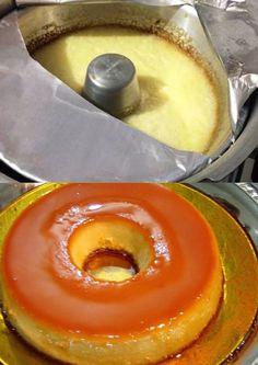 Ingredientes e Preparo3 Ovos 1 Lata de Leite CondensadoLeite Comum ( Mesma medida da Lata de Leite Condensado)1 Colher de Sobremesa de Amido de Milho Substituições: O Amido de Milho