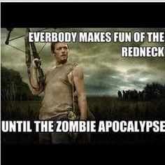 hahahaha how I love the walking dead