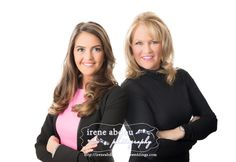 Janice + Jackie Valois, Mother Daughter Realty Team | Team Portraits + Business Headshots | Clarksburg, Maryland | http://www.ireneabdou.com