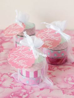 Try These Easy Decorating Tips When Working with Candles Wedding Favours Luxury, Candy Wedding Favors, Wedding Favor Tags, Unique Wedding Favors, Bridal Shower Favors, Diy Wedding Decorations, Party Favors, Christmas Decorations, Washi Tape