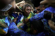Somos todos Silva: Rafaela conquista 1º ouro do Brasil na Olimpíada do Rio #globoesporte