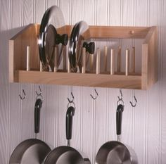 KITCHEN ORGANIZATION - Pot & Lid Rack