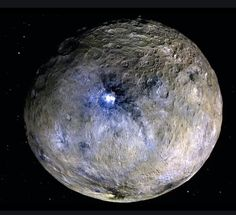 NASA's Dawn spacecraft has detected recent changes in Ceres' surface, revealing that the dwarf planet is a dynamic planetary body that continues to evolve and change. The results are published in two papers in the journal Science Advances. Cosmos, Asteroid Belt, Planets And Moons, Dwarf Planet, Space And Astronomy, Space Planets, Nasa Space, Nebulas, Outer Space