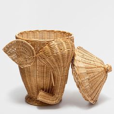 Elephant shaped basket