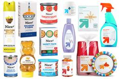Walgreens Nice! and Target Up & Up Private Label Packaging - PKG