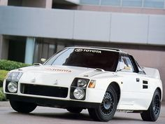 1987 Toyota MR2 Group-B prototype. Ugly but very functional