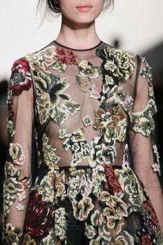 VALENTINO A/W 2014.15 — detailing │ via Style