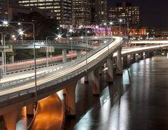 Brisbane's Riverside Expressway