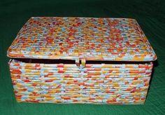Aprenda aqui a reciclar uma bela caixa de sapato fazendo decoração com…